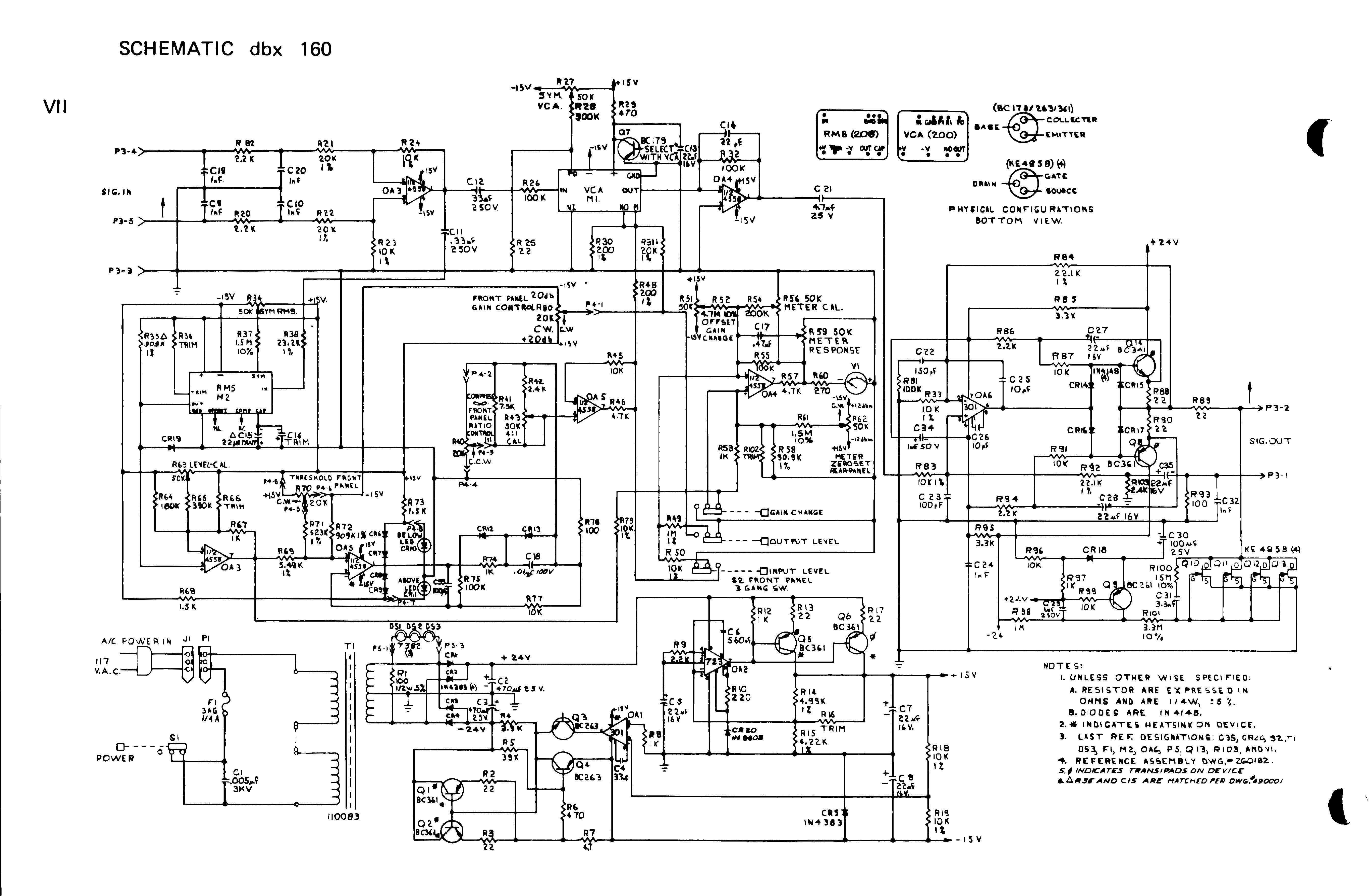 Schematic Wiring Library Pin Theremin Circuit Diagram On Pinterest Dbx 160